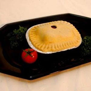 Individual Uncooked Steak Pies