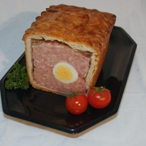 Gala Pork Pie With Egg