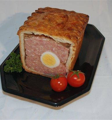 Gala Pork Pie With Egg