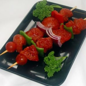 Hot & Spicy Chicken Kebabs